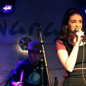 Liz performing at Silvana Night Club in Nyc