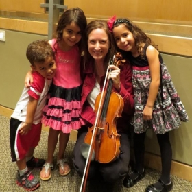 Children's concert with the Arts Flores Symphony in Miami, Florida