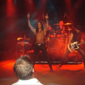 Playing with Steven Pearcy (Lead Singer of Ratt)