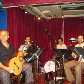 Performance at Cornelia Street Cafe New York City