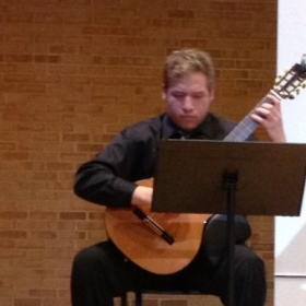 Performance at UNCC's Rowe Hall