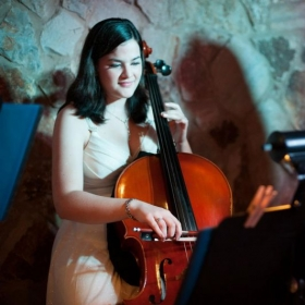 Performing for an awards ceremony