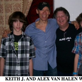 Keith J. - and Alex Van Halen with Students !!