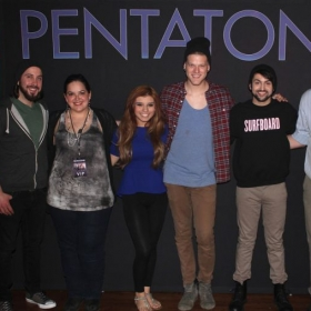 Meeting my musical idols, Pentatonix!