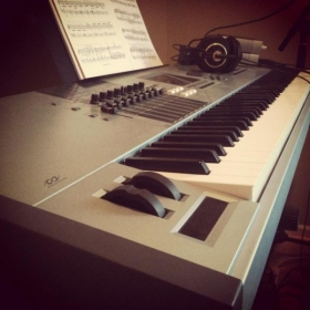 My keyboard! (Yamaha Motif XS8 Weighted)