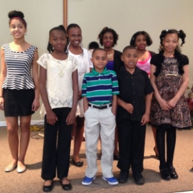 Some of KR Music Studio Kids Piano Students