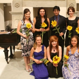 Concert with my students         Casentino Voice