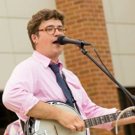 Me performing...with banjo!