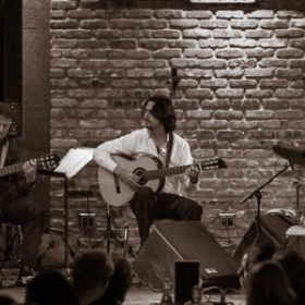 Performing at Chicago's City Winery  as part of the Spanish Guitar Duo Ensemble