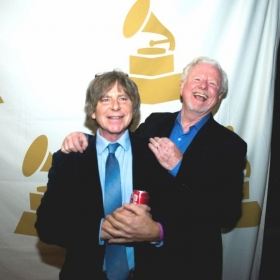 Ralph {left} and my dear friend Gaylan {right } Latimer at a Grammy event.