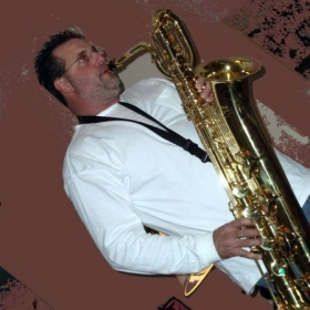 Playing my new Bari Sax is a lot of fun!