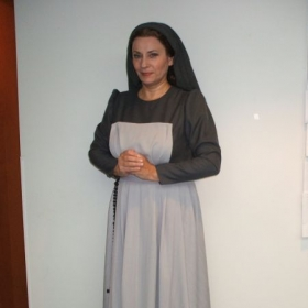 Anna-Lisa as a nun in Puccini's Suor Angelica