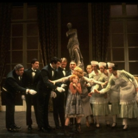"""Annie""  with Mary B Phillips, Alison Smith and members of the Broadway Company"
