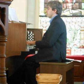 Organist and Music director at St Peter Lutheran Church in Chester Springs