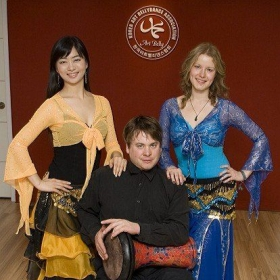 Korea Art Bellydance Association, Seoul. Instructor/performer  in bellydance drum rhythms to dancers beginning to learn drumming.