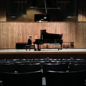 My School of Music recital debut in 2013.