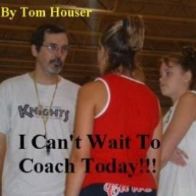 "The cover of my book, ""I Can't Wait To Coach Today""."