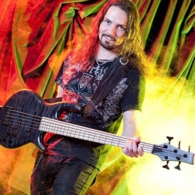 Photo shoot for Carvin bass guitars 2010