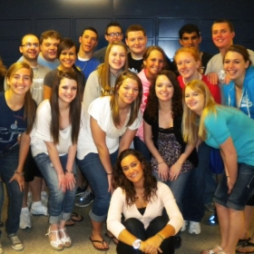 Spanish 4 students at Ellwood City High School