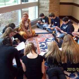 """Educating high school students at Westminster College's """"Culture Day"""""""