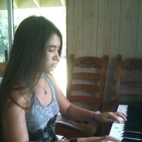 Mya realized that some music she had wanted to play was not as difficult as it sounded.
