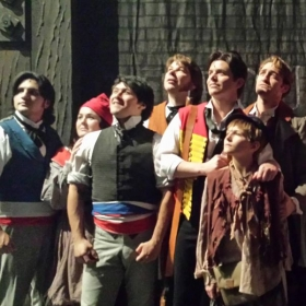 "As ""Combeferre"" in LES MISÉRABLES fo Fresno Grand"