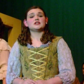 Performing as Fiona in Brigadoon