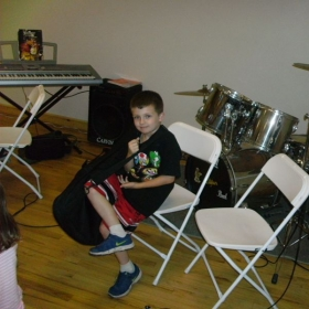 Anthony Deluca at my music school in Chester, NY.