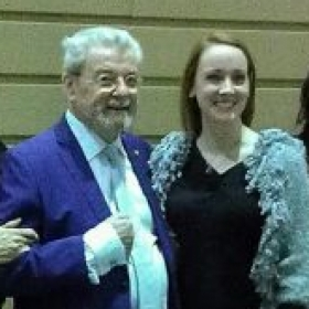 With James Galway.