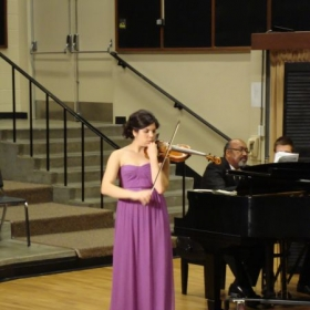 From a recital in May, 2012.