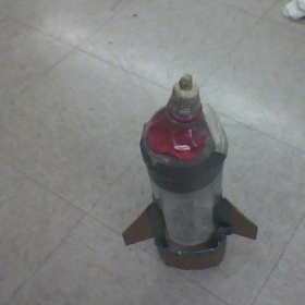 my H2O pressurized air rocket