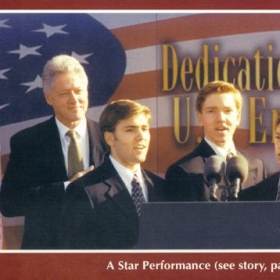 Singing for President Bill Clinton (1999)