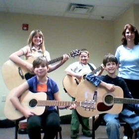 Group Guitar Class - one of many!