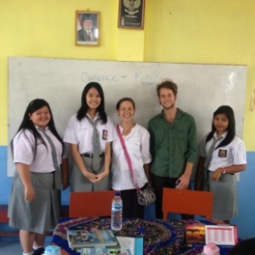 Teaching in Sumatra