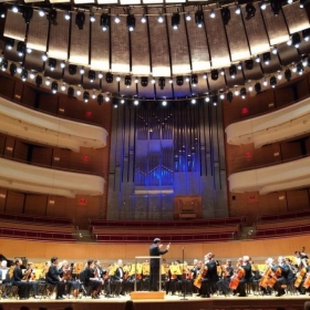 Performing at the Segerstrom Center for the Arts with Symphony Irvine