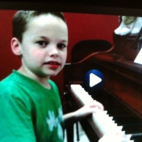 remember this face!  Hes going to be another Beethoven!