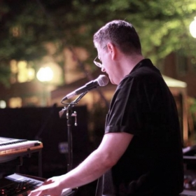 Yours truly performing with STAX of SOUL at Danbury Summer Concert Series 2013