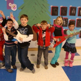Some kids I taught in my after school program in Ct