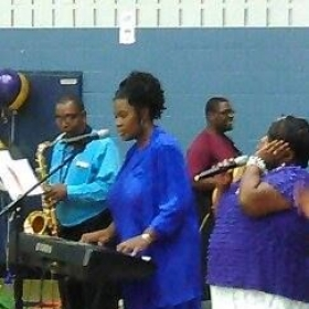 Life Inspirational Church Praise Team under the direction of Melodie Brookins