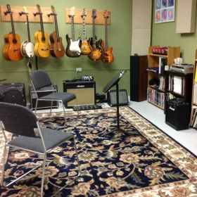Private lesson space