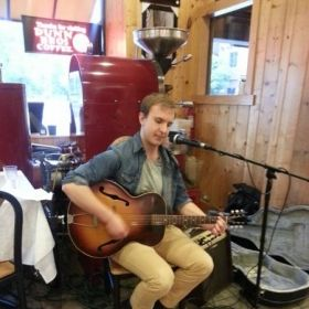 This is me playing a solo gig at my favorite coffee shop in St. Paul. Nothing better than fresh brewed coffee and music!