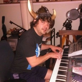 Sometimes you have to play the piano in a viking hat.
