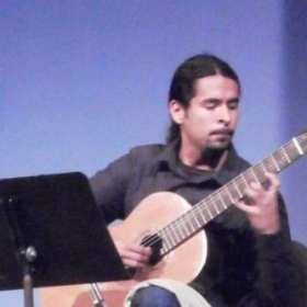 Performing at Fullerton Community College
