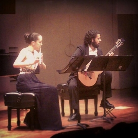 Performing duets by Astor Piazzolla