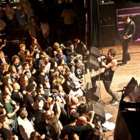 On Stage at the House of Blues. Sunset Strip Hollywood, CA