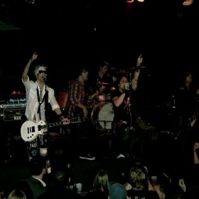 On Stage at The Whiskey A Go-Go. Sunset Strip Hollywood, Ca