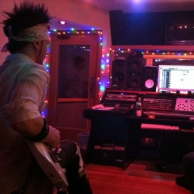 Tracking Guitars at RmR Recording Studios Los Angeles