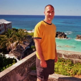 Vacationing in Bermuda.