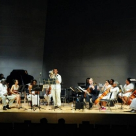 From an orchestral gig for Artscape 2013 in Baltimore MD