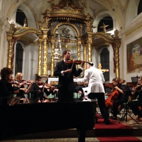 Music Academy International Concerto Competition performance Fiera di Primiero, Italy
